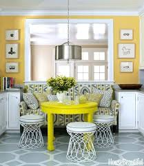 yellow and grey kitchen u2013 fitbooster me