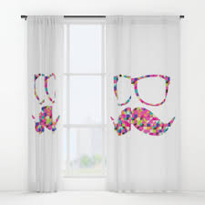 Cool Curtains Cool Window Curtains Society6