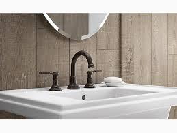 Kohler Bathroom Fixtures by K R76257 4d Worth Widespread Bathroom Faucet Kohler