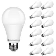 7w 450lm warm white a19 e26 led light bulbs 40w incandescent