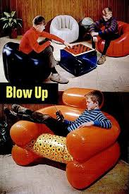 Inflatable Chair And Ottoman by Blow Up Chair Reinhabit Pinterest Inflatable Furniture