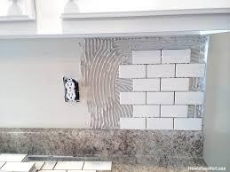 subway tile kitchen backsplash impressive subway tile kitchen backsplash and how to install a