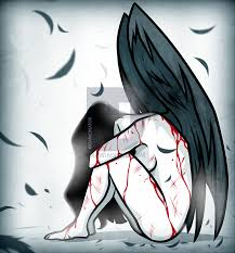 how to draw an angel cross step by step by darkonator drawinghub