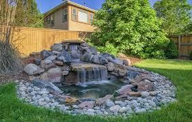 Rock Garden Waterfall 53 Backyard Garden Waterfalls Pictures Of Designs Designing Idea