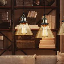 claxy ecopower antique industrial mini glass pendant lighting 1