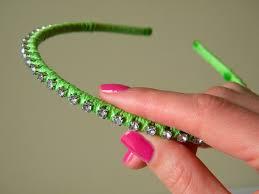 rhinestone headbands feature friday diy rhinestone headband