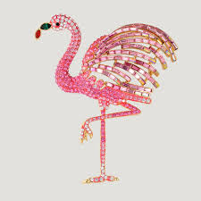 Flamingo Rugs Pink Crystal Flamingo Brooch Miscellaneous Pinterest