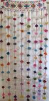 Door Bead Curtains Spencers by 204 Best Pompons Images On Pinterest Pom Pom Rug Pom Poms And