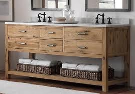 Cottage Style Vanity Weathered Wood Vanity Top Weathered Wood Bathroom Vanities For A