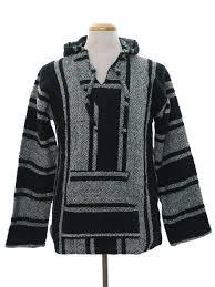 baja sweater mens 80s retro jacket late 80s or early 90s artesania cuamatzi mens