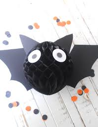 how to make an easy halloween bat decoration katarina u0027s paperie