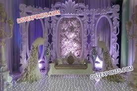 wedding backdrop frame stage with designer backdrop frames