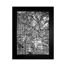 Street Map Of Los Angeles by Los Angeles Street Map Size 11