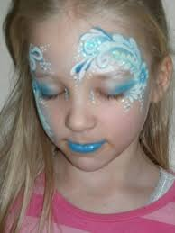 50 best face paint ice queen snow images on pinterest face