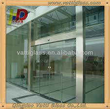 aluminium glass doors 8mm bronze tempered glass for used commercial glass entry doors