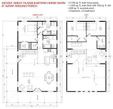 Timberpeg Floor Plans Floor Plan Pre Designed Great Plains Eastern Horse Barn Home Kit