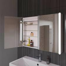 Led Bathroom Cabinet Mirror - bathroom cabinets mirror bathroom cabinet with shaver socket
