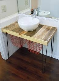 posts diy pallet wood bathroom vanity pallet shelf for bathroom