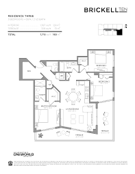 Axis Brickell Floor Plans Brickell Ten Lux Life Miami Blog