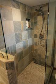 Slate Bathroom Ideas by 2607 Best Cool Tile Bathrooms Images On Pinterest Bathroom Ideas