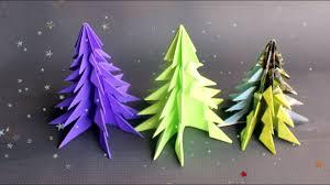 super easy paper christmas tree diy christmas decoration youtube