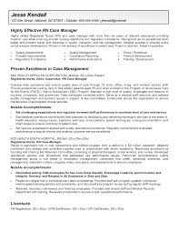 daycare resume objective case manager resume objective free resume example and writing resume samples for rn case manager