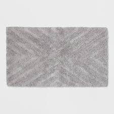 Luxury Bathroom Rug Bathroom Textured Stripe Design On Bath Rug Luxurious Bathroom