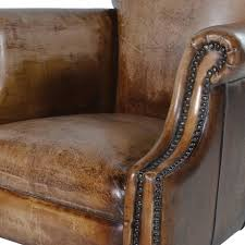 Distressed Leather Armchairs Distressed Leather Armchair U2013 Harwell Interiors