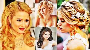 wedding hairstyles for medium length hair pictures elegant wedding hairstyles for medium length hair youtube