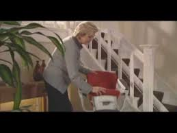 flow 2 stairlift for narrow stairs from multicare youtube