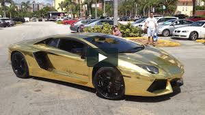 first lamborghini the au79 worlds first gold lamborghini aventador on vimeo