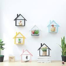 Decorative Metal Wall Shelves Online Get Cheap Decorative Metal Wall Shelf Aliexpress Com