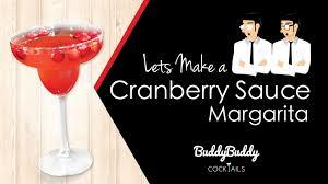 cranberry sauce margarita recipe for thanksgiving by buddybuddy