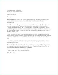 download board member resignation letter sample