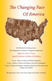 Immigration Special The Changing Face Of America Immigration Symposium Burritt