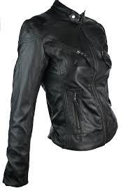 aviatrix 100 ladies women real leather jacket fitted biker style