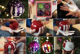 create your own snowman handprint ornament pictures photos and