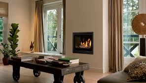 conventional gas fire