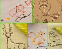 Kitchen Towel Embroidery Designs Hand Embroidery Patterns Rustic Home Decor Embroidery