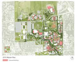Ksu Map 2015 North Corridor Campus Master Plan
