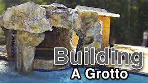 backyard waterfalls building a grotto youtube
