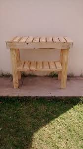 kitchen side table handmade diy pallet kitchen island or end