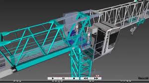 tower crane assembly manual video everdigm 타워크레인 설치영상