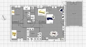 plan de maison 100m2 3 chambres plan maison plain pied 3 chambres 100m2 cool plan maison