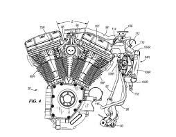 2011 harley davidson water cooled engine us patent concept spy shots