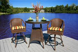 High Top Patio Furniture Set - high bistro patio set patio outdoor decoration
