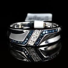 midnight blue wedding band best 25 blue diamond rings ideas on blue diamonds