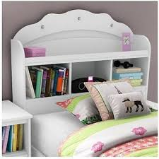 White Girls Bookcase by Kids Twin Bed Headboard Bookcase Girls Storage Drawers Nursery