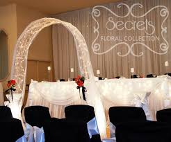 wedding arches with lights wedding arches archives secrets floral collection