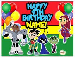 57 teen titans birthday bash images